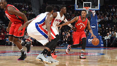 NBA: Raptors 103, Pistons 89