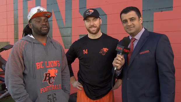 Lulay, Elimimian happy to be back with Lions