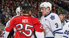How is Ottawa reacting to the Phaneuf trade?
