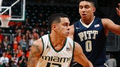 NCAA: Pittsburgh 63, (12) Miami 65
