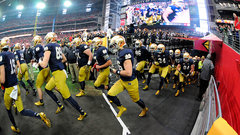 Which players will step up as leaders for Notre Dame?