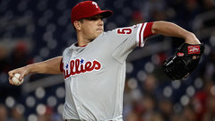 MLB: Phillies 3, Nationals 0