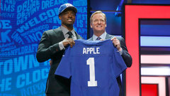 Giants draft CB Apple 10th overall
