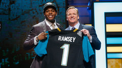 Jaguars select CB Ramsey with fifth overall pick