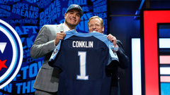 Titans pick OT Conklin eighth overall