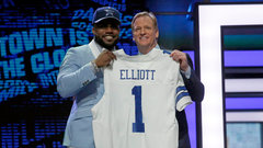 Cowboys pick RB Elliott fourth overall