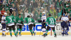 Stars take Game 1 from Blues
