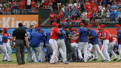 The Breakfast Club: Jays/Rangers brawl