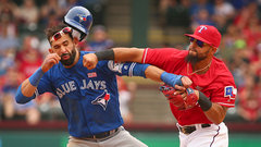 Odor suspended eight games, Bautista gets one
