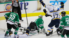 NHL: Blues 4, Stars 3 (OT)