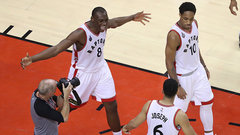 Raptors deliver final punch to Pacers
