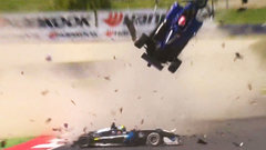 Two drivers hospitalized after huge Formula 3 crash