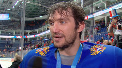 Ovechkin pleased by end result