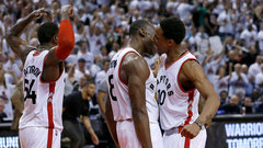 NBA: Cavaliers 99, Raptors 105