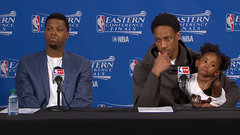 DeRozan, Lowry on gutting out Game 4 win