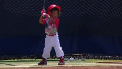 Must See: Brandon Phillips' 2-year-old son takes batting practice