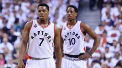 Comfort level at home key for Lowry, DeRozan