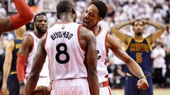 Relive the Raptors' courageous win over the Cavs in Game 4