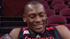 Biyombo responds to finger-wag controversy