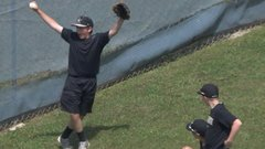 Must See: Foul ball freak out