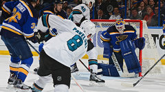 Blues go back to Elliott as Sharks aim for first Cup Final berth