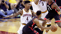 Cavaliers' defence causes problems for Lowry, Raptors