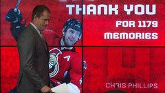 Chris Phillips retires