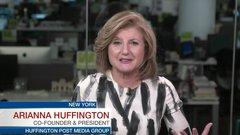 Arianna Huffington on HuffPost Canada celebrating 5 years