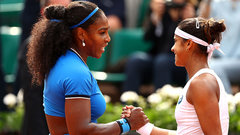 Serena dominant in second round win