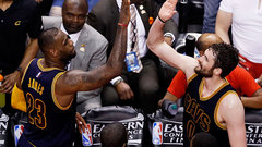 Cavs' ball movement, consistent shooting sinks Raps