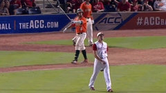 Must See: College player one-ups Bautista's epic bat flip