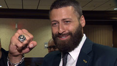 Reilly on Grey Cup ring: ''It's the nicest thing I own''