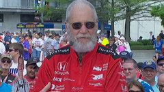 David Letterman talks Indy 500