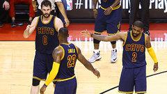 Cavaliers' Big 3 no match for the Raptors