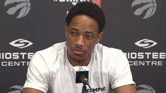 DeRozan on free agency: ''I'm a loyal person.''