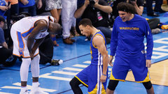 NBA: Warriors 108, Thunder 101