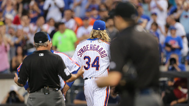 Syndergaard's ejection highlights MLB's inconsistency
