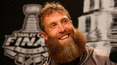 Thornton the star of Stanley Cup media day