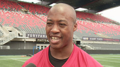 Burris on first practice: ''Feels like Christmas Day''