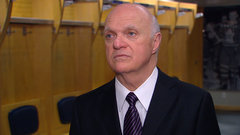 Lamoriello felt ''a few palpitations'' during lottery
