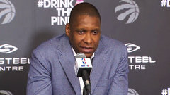 Ujiri on Biyombo and DeRozan: ''We want to bring them back