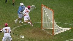 Must See: Lacrosse goalie makes unbelievable save