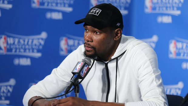 Durant blows off free agency talk after Game 7 loss