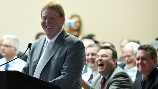 Las Vegas mayor 'very, very confident' about Raiders relocation