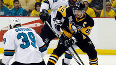 Sharks can't hold down Crosby in Game 1