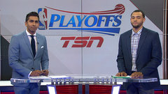 Ennis: Lowry, DeRozan need to push the attack offensively