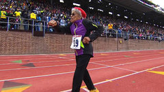 Must See: 100-year-old sprinter sets world record