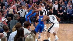 Must See: Thunder win after bizarre final sequence