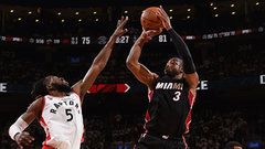 NBA: Heat 102, Raptors 96 (OT)