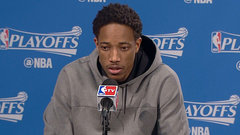 DeRozan on Game 1 struggles, Lowry's slump